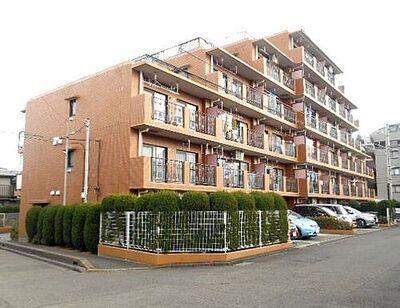 フローレンスパレス相模大野 209号室(営業1課) 外壁はタイル張りのモダンな造りのお洒落なマンションです。