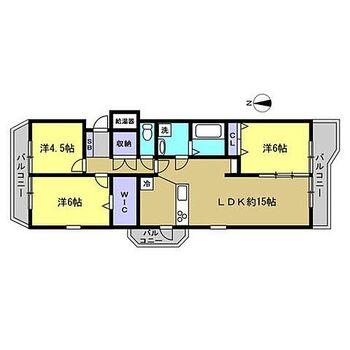 ライオンズマンション金屋本町 【リフォーム後/間取り図】元々の機能的な間取りは活かしつつ、浴室拡張等より使い勝手の良い間取り変更を行います。