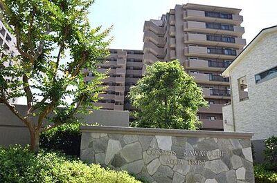 コスモ川口アクアフロント 鉄筋鉄骨コンクリート造12階建ての1階部分でございます